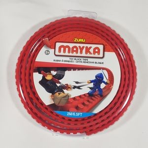 Zuru Mayka Red Toy Block Tape Lego Compatible